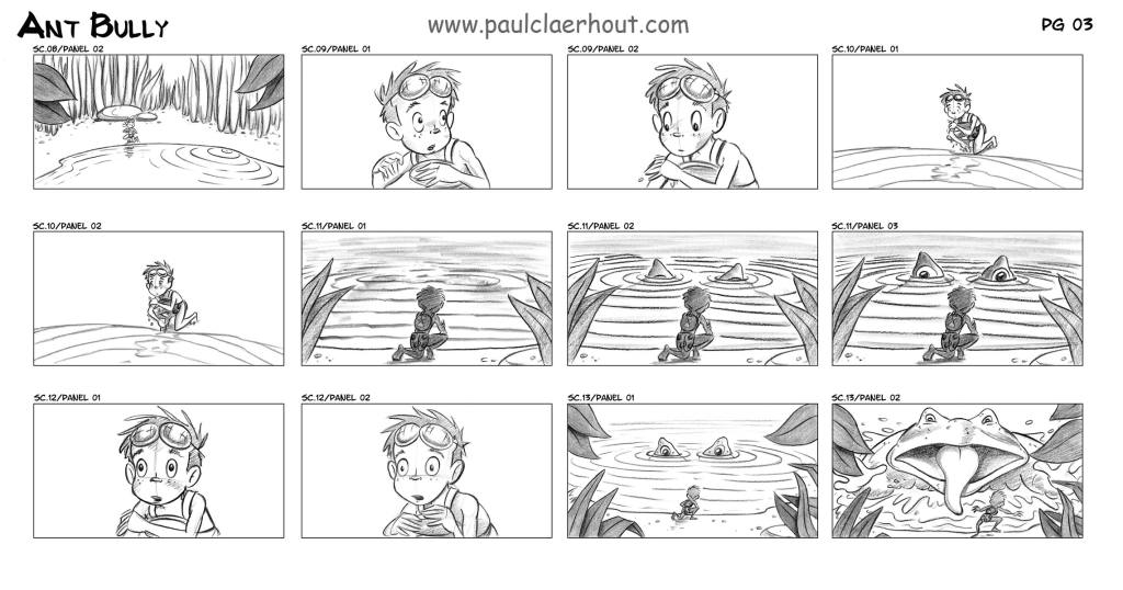 PaulclaerhoutCom  Film Storyboards